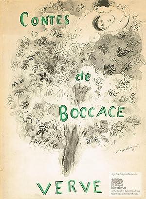 "Contes de Boccace. Umschlag der ""Contes du: Marc Chagall (1887-1985),"