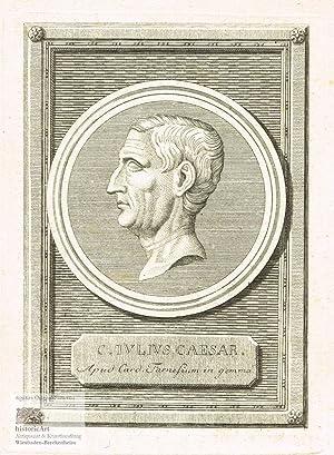 C. Iulius Caesar. Apud Card. Farnesium in: Julius Cäsar (100-44