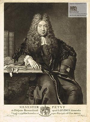 Silvester Petyt de Hospitio Barnadiensi apud London: Silvester Petyt (1638-1719),