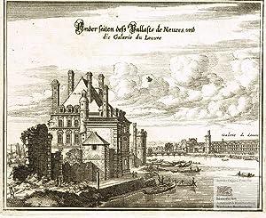 Ander seiten deß Pallasts de Nevers und: Caspar Merian (1627-1686),