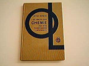 Lehrbuch der Chemie für den technischen Unterricht.: Gutsch, Heinz: