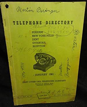 1961 Telephone Directory - East Otter Tail Telephone Co.