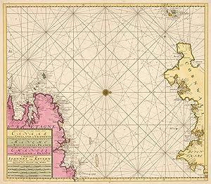 Nouvelle Zeekaart van t'derde Gedeelte Van t': Johannes van Keulen
