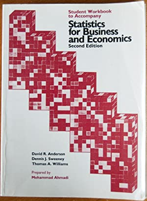 Student Workbook to Accompany Statistics for Business: Anderson, David Ray;Sweeney,