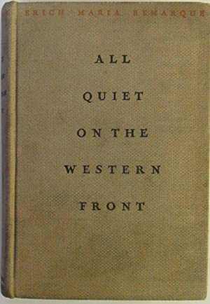 All Quiet On The Western Front, Remarque, Erich Maria