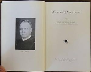 Memories of Manchester: Otho Winger, A.M., LL.D.