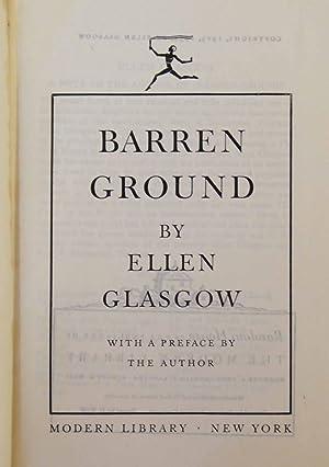 Barren Ground: Ellen Glasgow