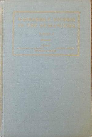 Vanderbilt Studies In The Humanities (Volume 1): Edited by: Richmond C. Beatty, J.Philip Hyatt and ...