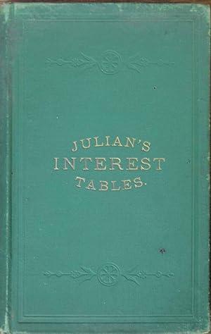 Julian's Interest Tables: Eran Julian