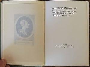 The Persian Letters (Delhi Edition): Montesquieu