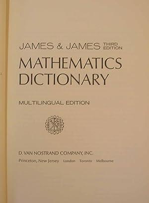 Mathematics Dictionary - Multilingual Edition: James