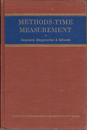 Methods-Time Measurement: Maynard, Stegemerten and
