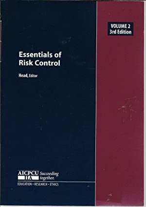Essentials of Risk Control, Vol. 2 (Third Edition)