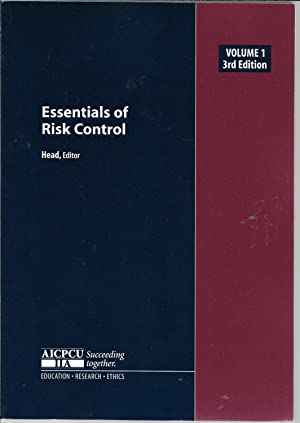 Essentials of Risk Control, Vol. 1 (Third Edition)