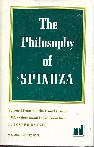 The Philosophy of Spinoza: Ratner, Joseph