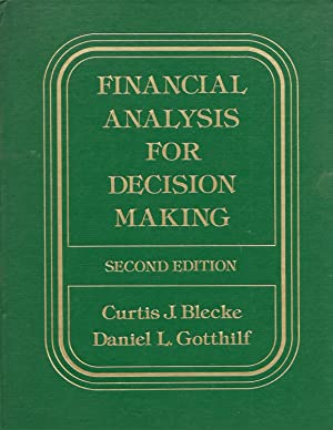 Financial Analysis For Decision Making - Second Edition