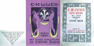Ephraim Moses Lilien - Sein Werk mit: Lilien, E. M.