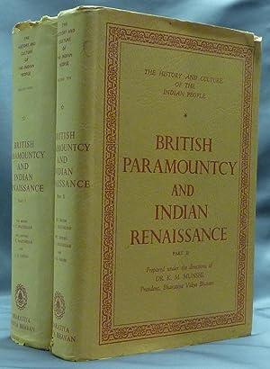 British Paramountcy and Indian Renaissance ( Volumes: MAJUMDAR, R. C.,