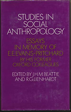 shop anthropology books and collectibles weiser  studies in social anthropology essays in memory of e e evans pritchard by his former