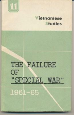 """The Failure of """"Special War"""", 1961-1965 Vietnamese Studies. Number 11: ASSORTED."""
