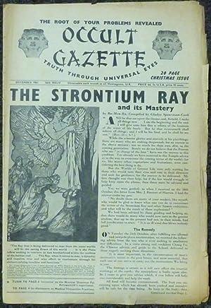 Occult Gazette. Truth Through Universal Eyes. Issue: SPEARMAN-COOK, Gladys I.