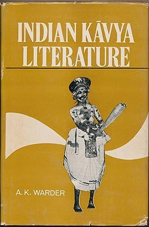 Indian Kavya Literature, Vol.I: Literary Criticism.: WARDER, A. K.