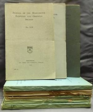 Journal of the Manchester Egyptian and Oriental: Various.