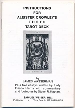 "Instruction booklet for Aleister Crowley's ""Thoth Tarot: WASSERMAN, James ["