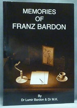 Memories of Franz Bardon.: Franz Bardon ]