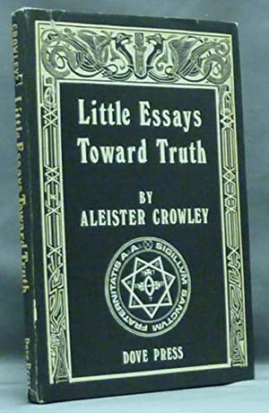 little essays on truth Small versus large schools: the truth about equity, cost, and diversity of  programming  inquiries about this essay are welcome and a list of citations  and.