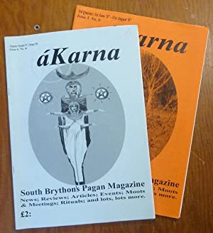 áKarna. South Brython's Pagan Magazine. 3rd Quarter: June - '07 - August '07, Issue 5. No. 3; and...