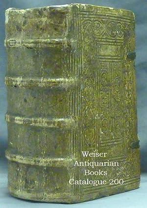 Malleus maleficarum (2 Volumes in 1) [Title: SPRENGER, Jakob, Heinrich