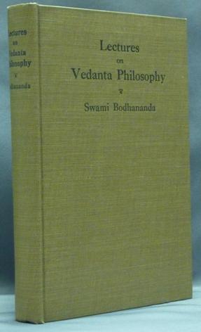 Lectures on Vedanta Philosophy.: BODHANANDA, Swami.