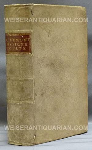 De La Physique Occulte Ou Traite' de: VALLEMONT, M.L.L. (L'abbe