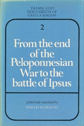 From the End of the Peloponnesian War: HARDING, Phillip (