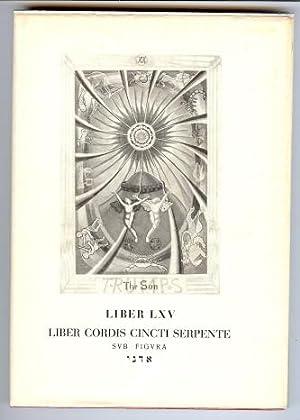 Äquinox IX. Liber LXV - Liber Cordis: CROWLEY, Aleister.