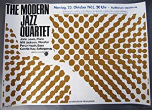 Modern Jazz Quartet Original Vintage 1965 German: Hermann Ober