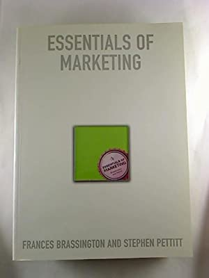 Essentials of Marketing.