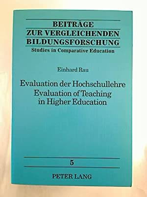 Evaluation der Hochschullehre = Evaluation of teaching in higher education. - Eine kommentierte B...