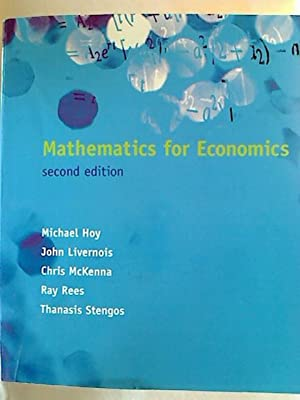 Mathmatics for Economics.