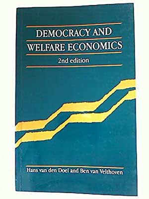 Democracy and Welfare Economics.