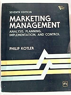 Marketing Management: Analysis, Planning, Implementation, and Control.