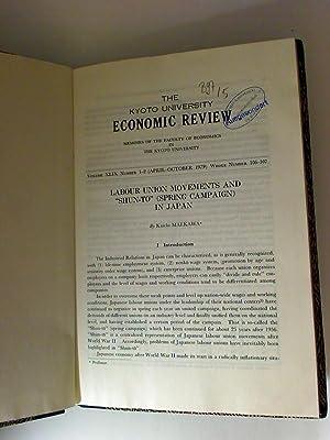 Kyoto University Economic Review - AbeBooks