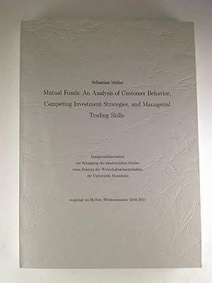 Mutual funds: An analysis of customer behavior,: Sebastian Müller
