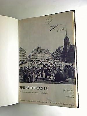 Sprachpraxis - 1982 (Hefte 1-6 / in einem Band) - Arbeitsmaterial für den Deutsch lernenden ...