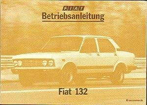 Fiat 132. Betriebsanleitung.