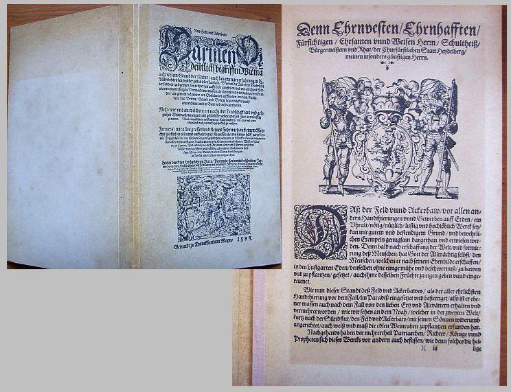 New Feldt und Ackerbaw . /Erstlich durch: Petrus de Crescentius: