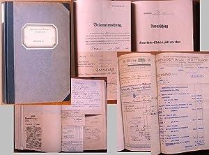 Rechnungsbuch der Gemeinde Herdern, Amtsbezirk Waldshut für das Rechnungsjahr 1920 (1. April 1920 ...