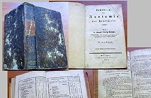 Lehrbuch der Anatomie der Hausthiere. Mit einem Register. / Zweite (2.) durchaus verbesserte ...