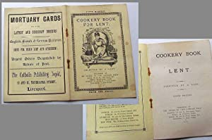 Cookery Book for Lent. -Sixth Edition ( 6. Auflage).: N.n. (selected by a Lady):
